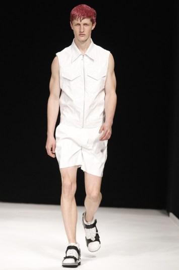 Christopher Shannon Men's RTW Spring 2014
