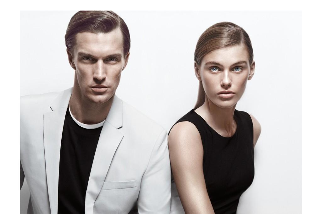 Calvin Klein spring 2013 ad.