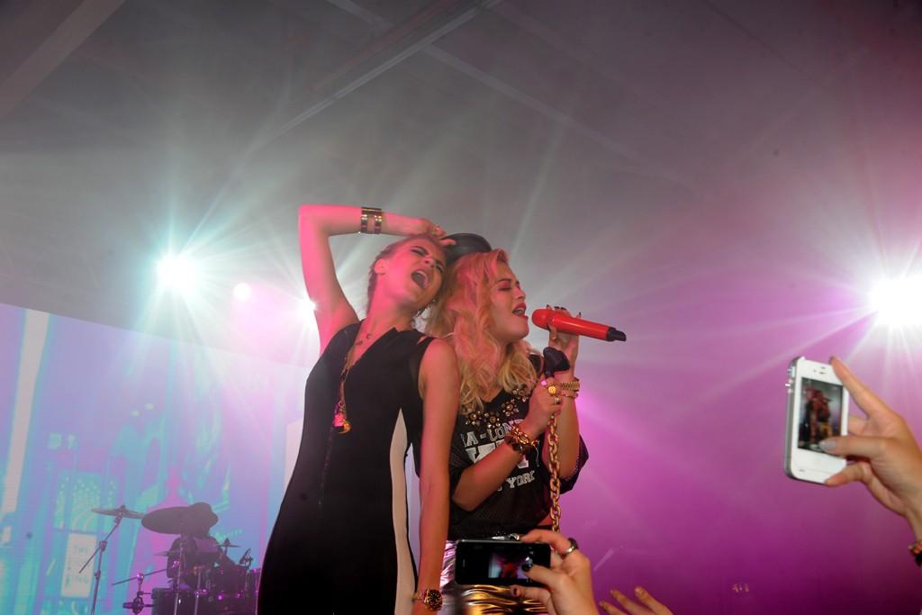 Cara Delevingne and Rita Ora