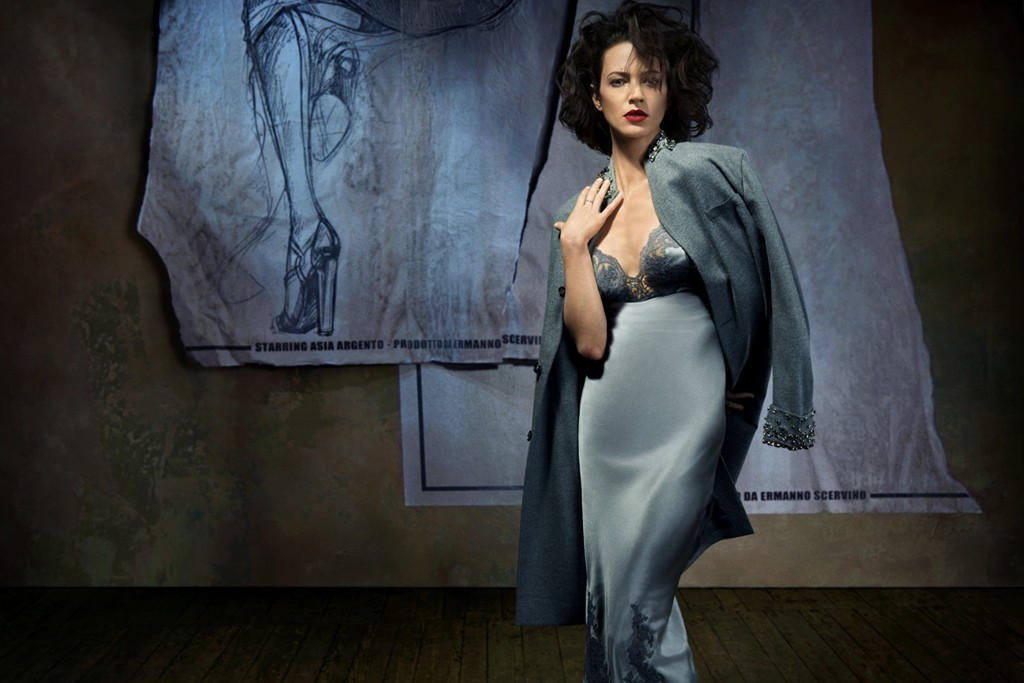 Asia Argento in the Fall 2013 Ermanno Scervino advertising campaign.