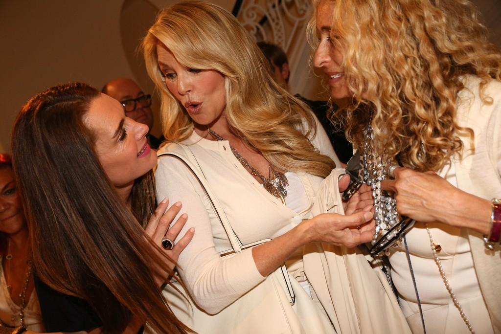 Brooke Shields, Christie Brinkley and Ann Dexter-Jones.