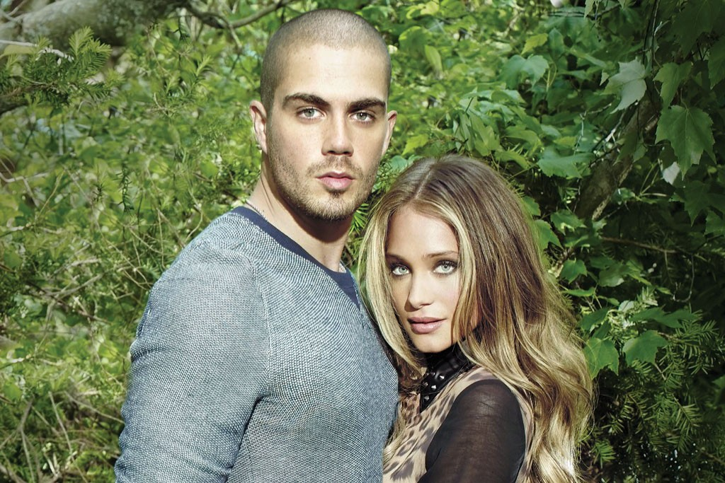 Max George and Hannah Davis in Buffalo's fall '13 campaign.