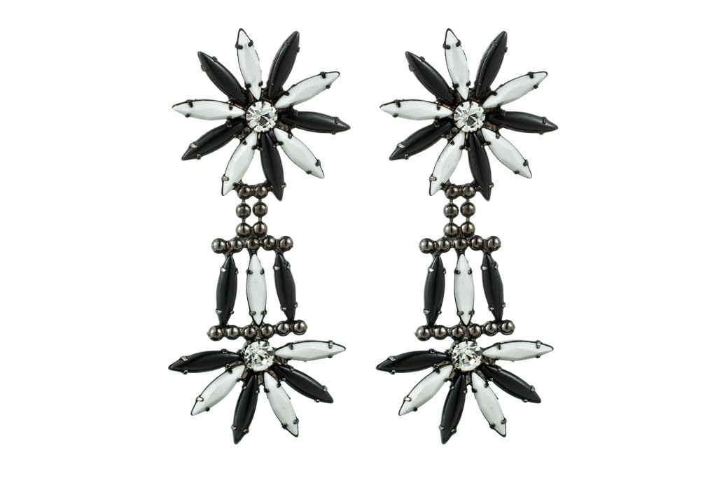 Dannijo's Lainey earrings, created specifically for the brand's fifth anniversary.