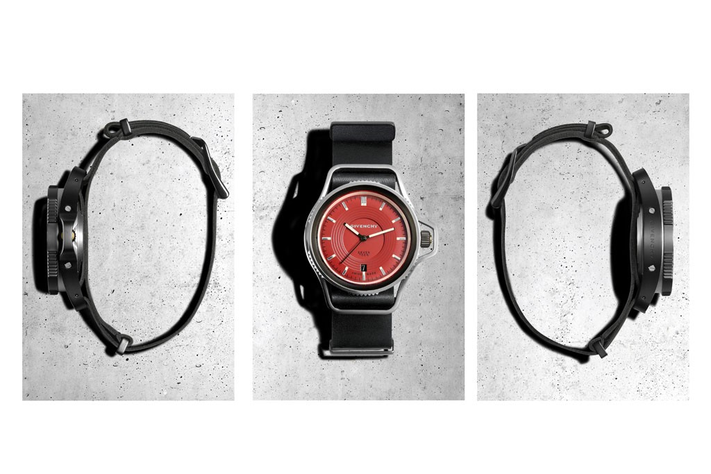 """Seventeen"" watch collection by Givenchy"
