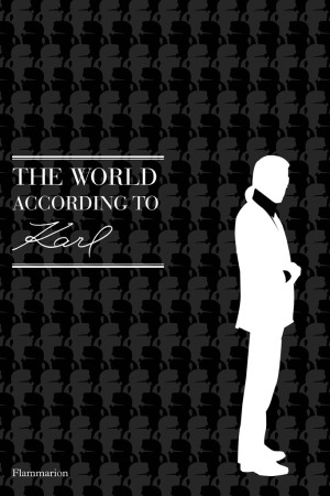 The cover of the new Karl Lagerfeld quote book.