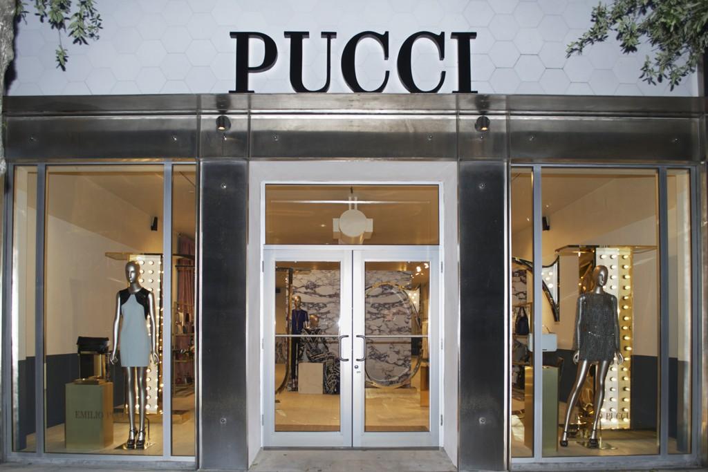 The Pucci store in Miami.