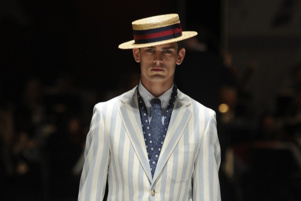 Hackett London Men's RTW Spring 2014