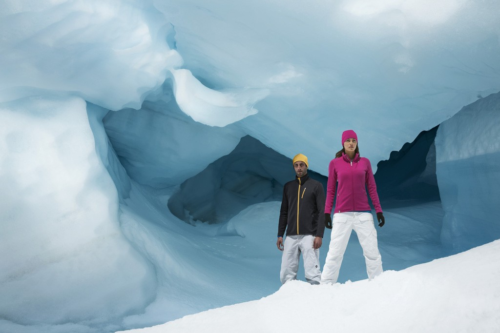 Icebreaker uses merino wool in its products.