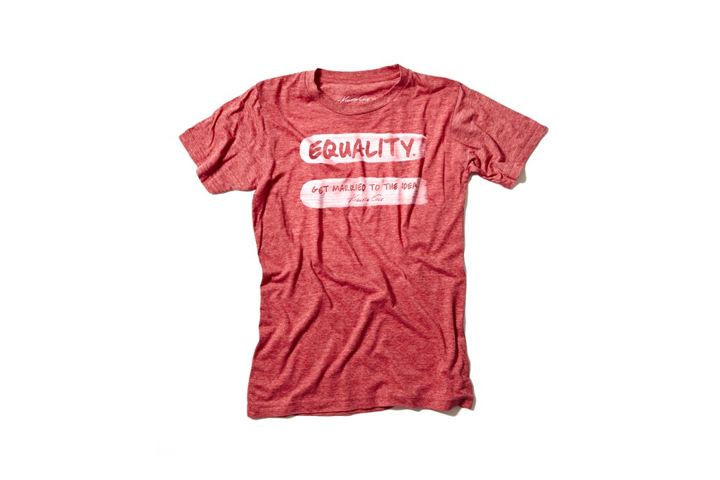 The limited-edition Kenneth Cole T-shirt.