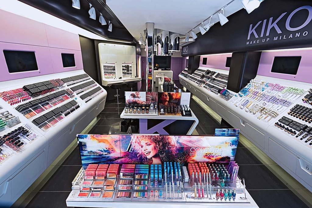Inside Kiko Make Up Milano's multifaceted, multicolor universe.