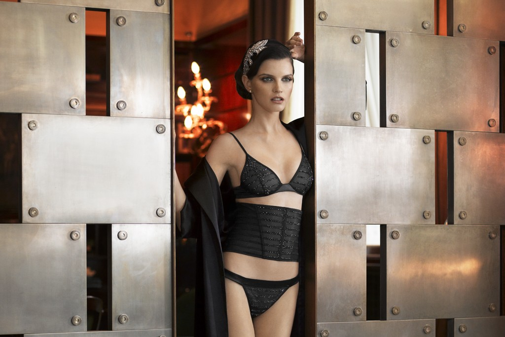A look from the La Perla collection for fall