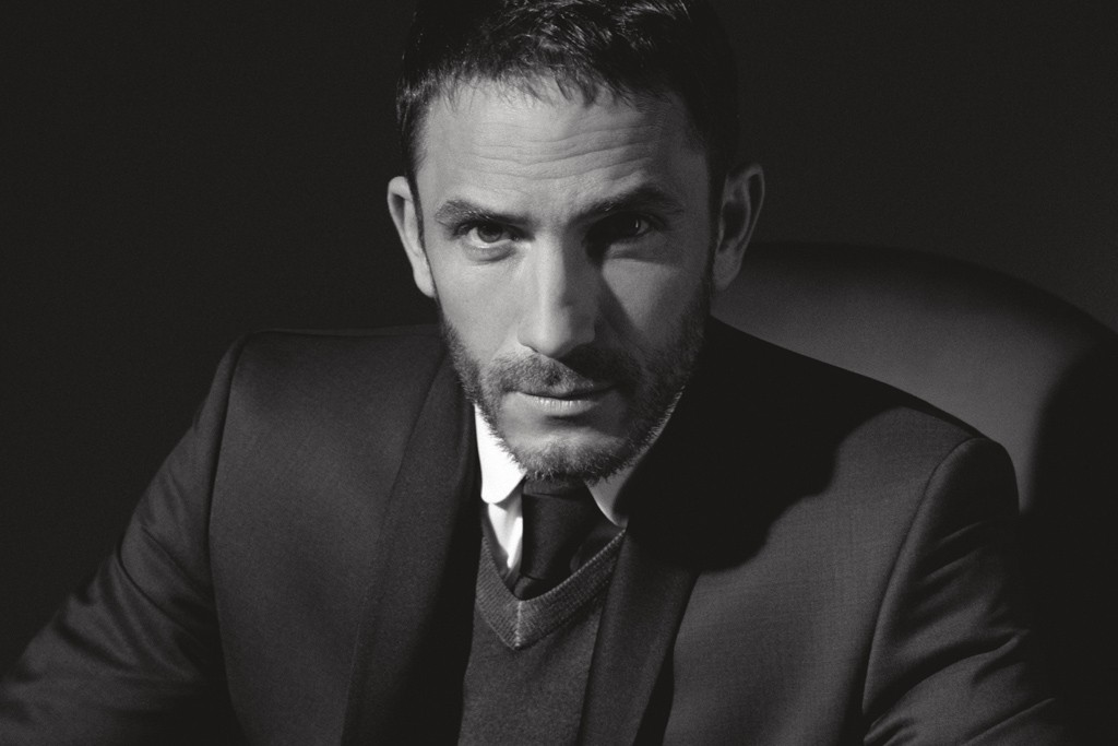 A visual of Lagerfeld new advertising campaign featuring Sébastien Jondeau.