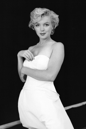 Milton H. Greene's portrait of Marilyn Monroe.