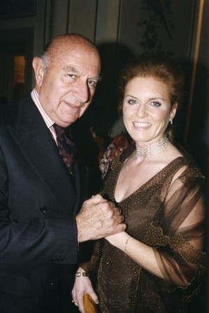 Beppe Modenese and Sarah Ferguson
