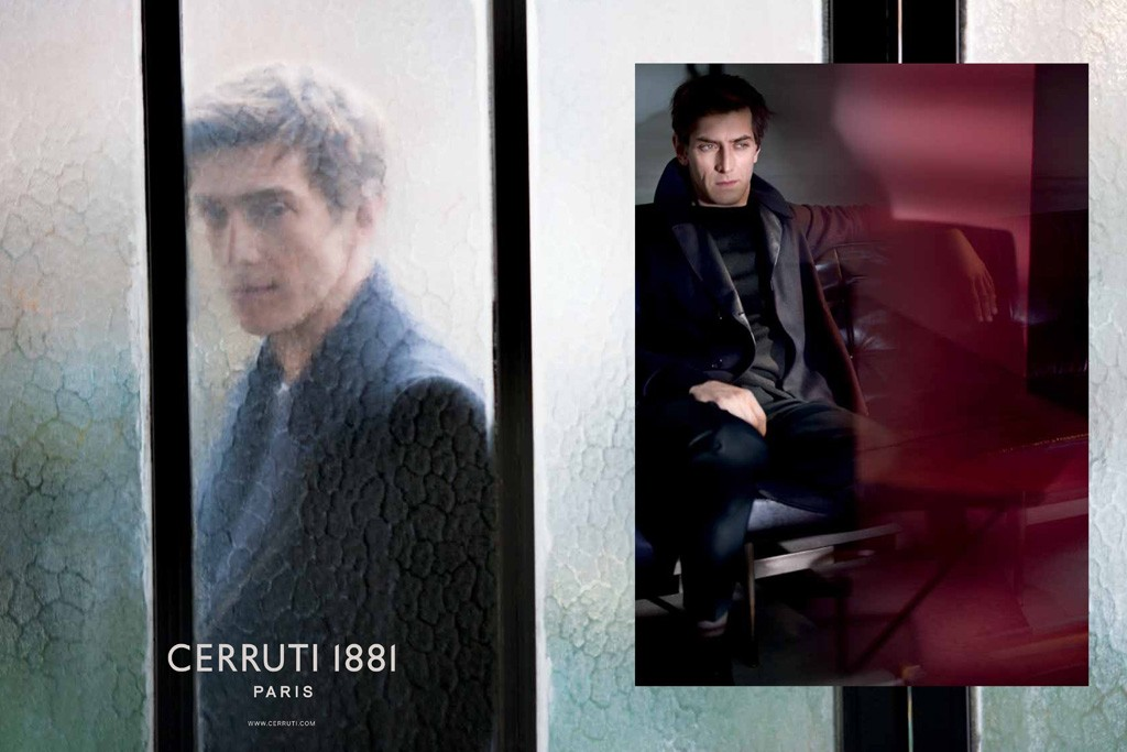 Laurence Wasser in the Cerruti 1881 campaign.