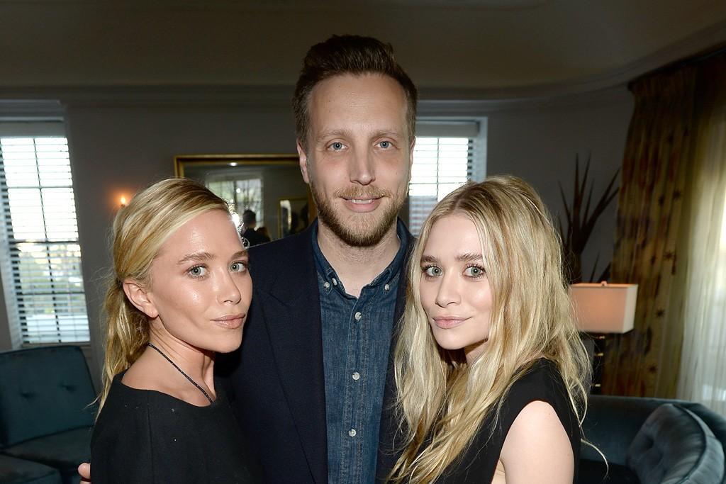 Ashley Olsen, Ariel Foxman and Mary-Kate Olsen.