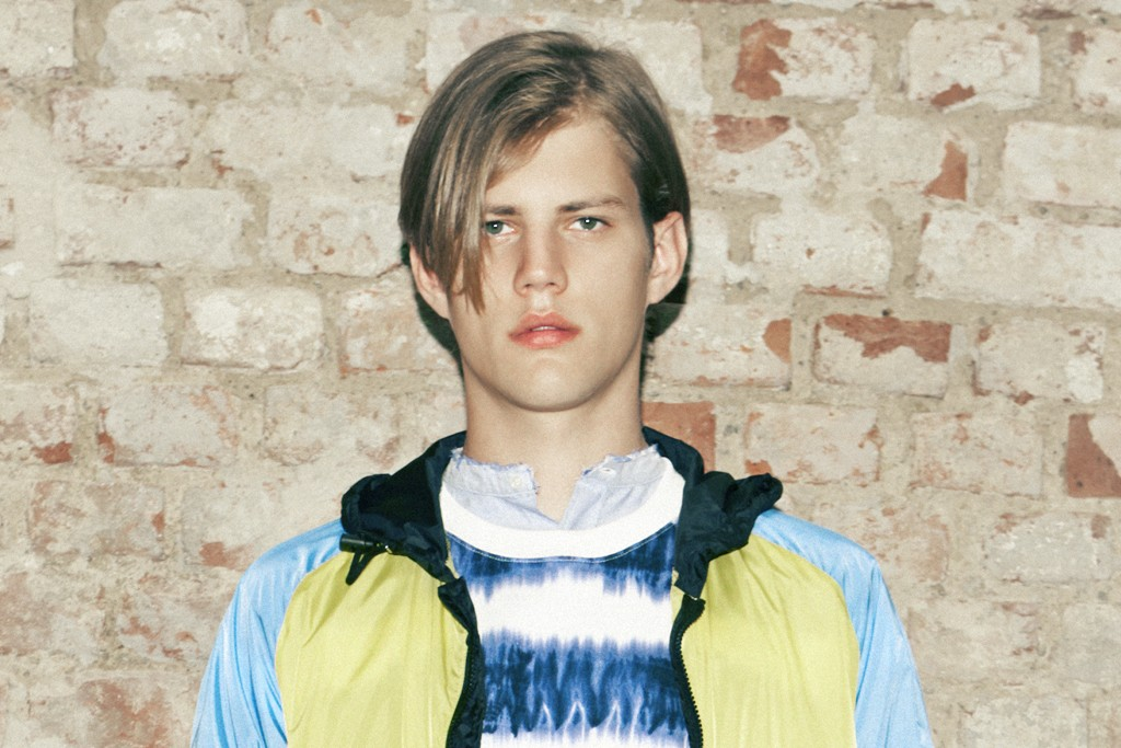A look from MSGM's spring '14 collection.
