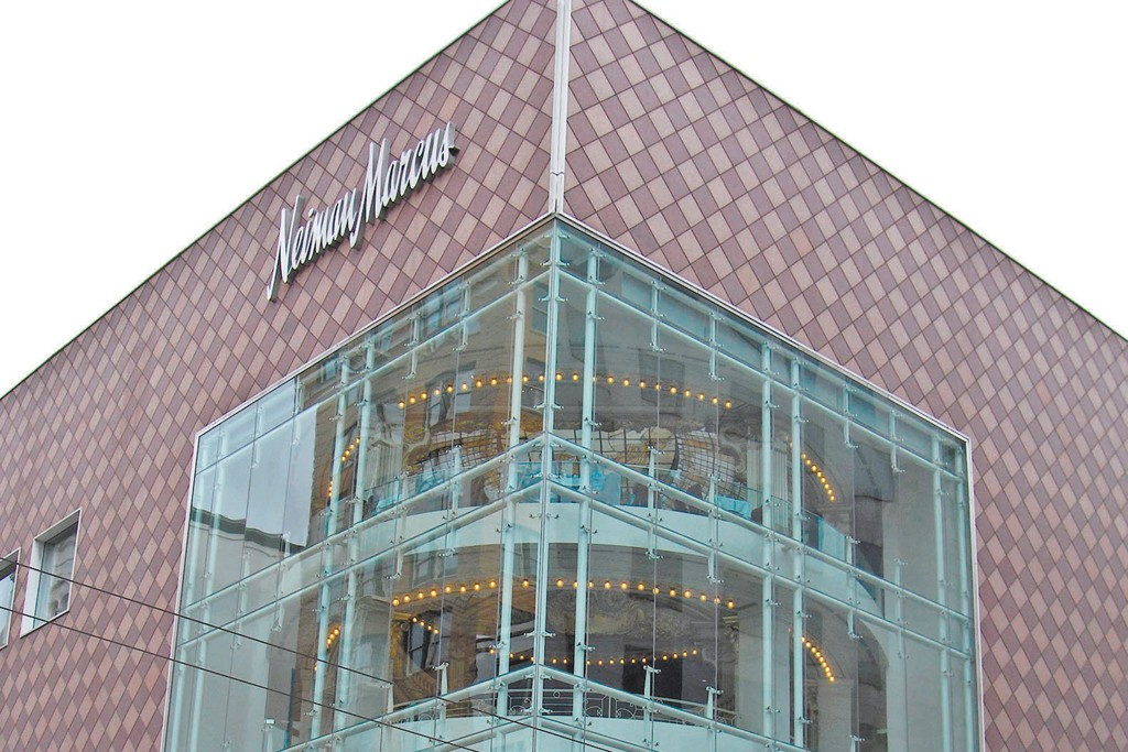 The Union Square flagship in San Francisco is one of the luxury chain's largest-volume units.