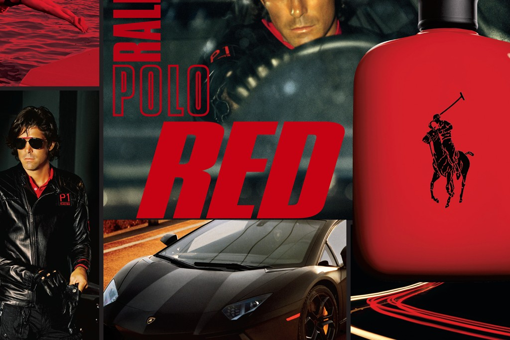 An ad for Polo Red.