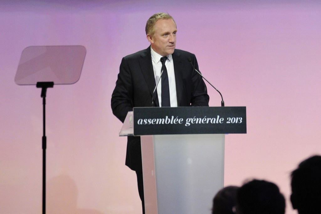 François-Henri Pinault in Paris on Tuesday.