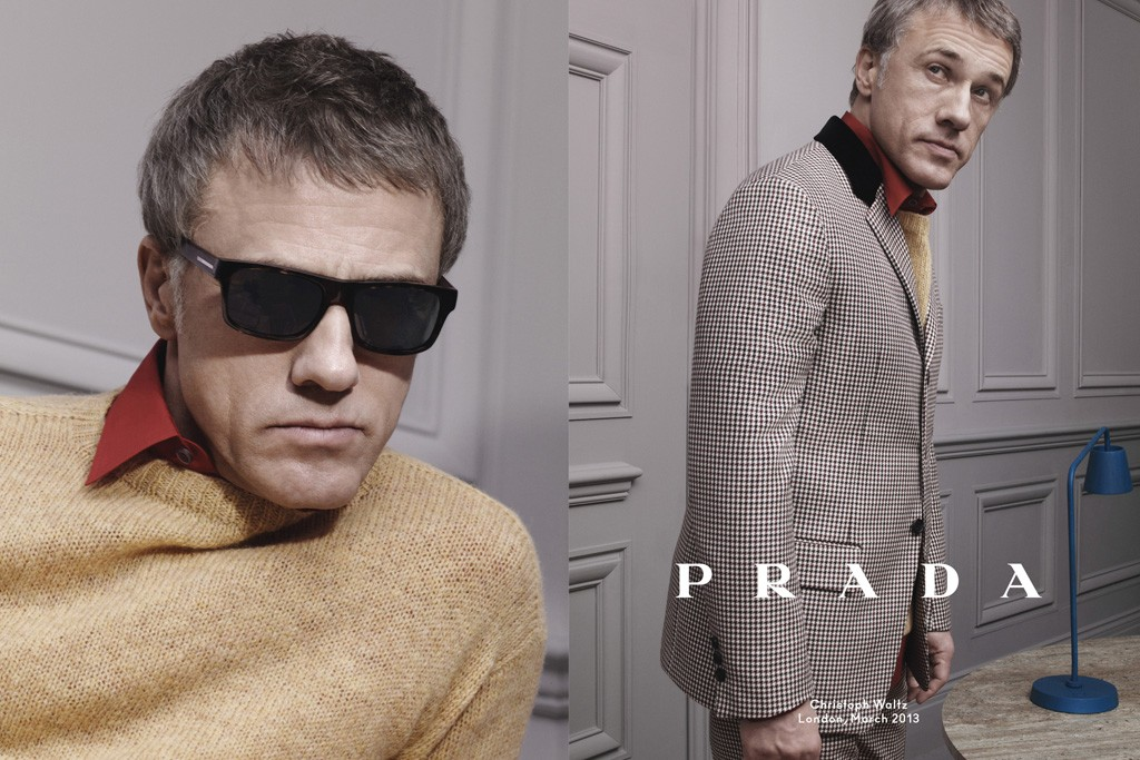 Prada men's wear fall/winter 2013 campaign.