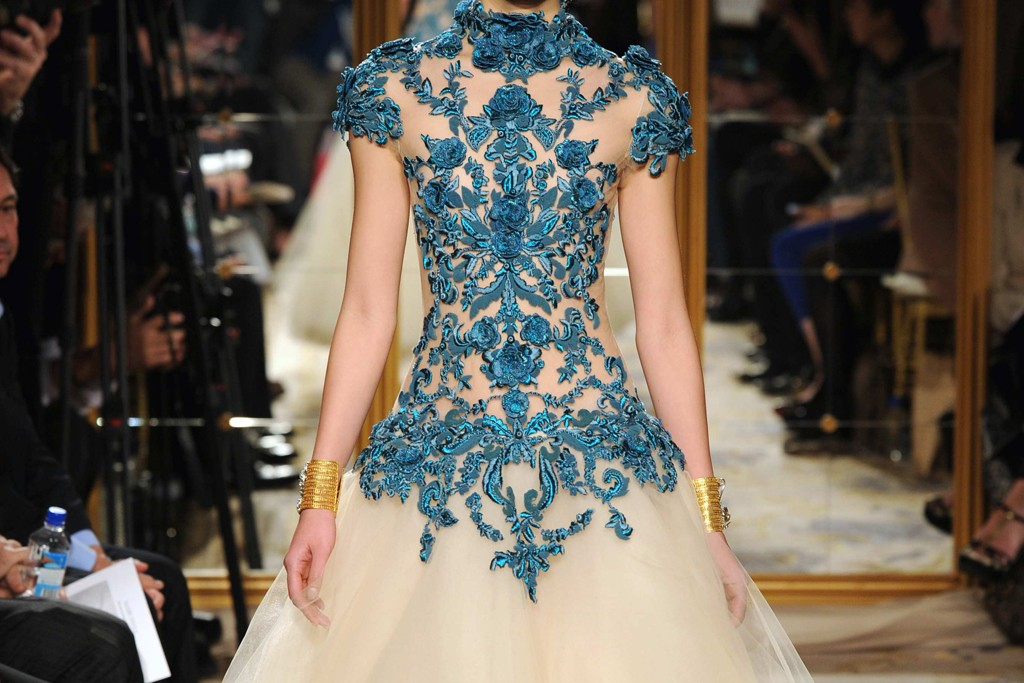 The inspiration for one of the Revlon by Marchesa 3D Jewel Appliqués.