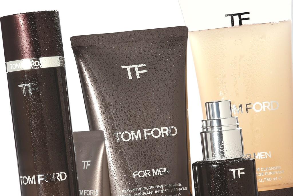Tom Ford's Skin Revitalizing Concentrate line.