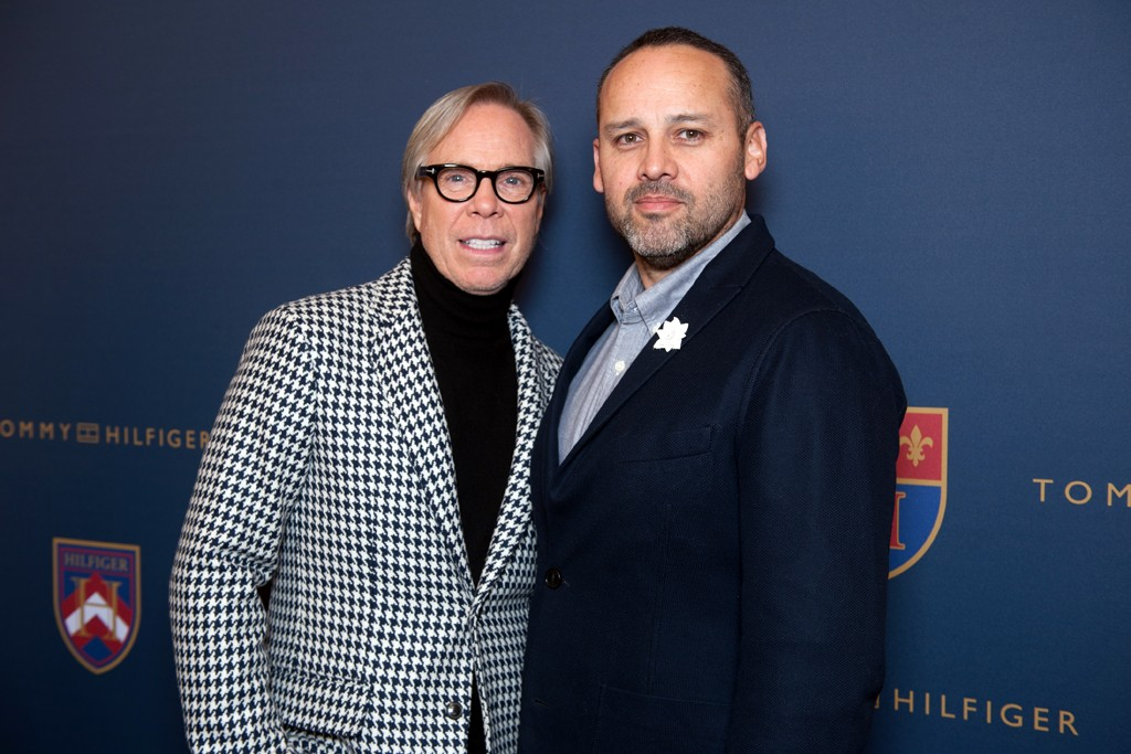 Tommy Hilfiger and George Esquivel
