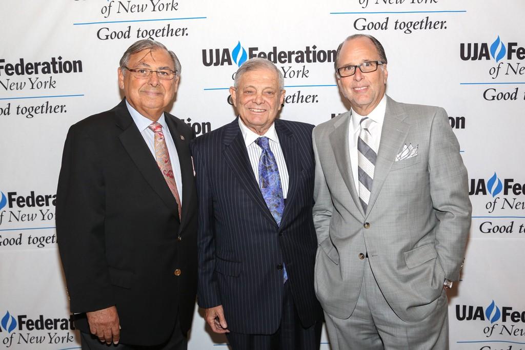 Mel Goldfeder, John Pomerantz and Allan Ellinger.
