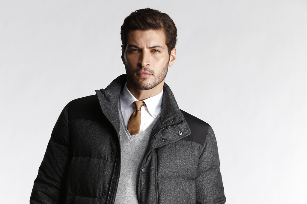 A men's look from Vince Camuto.