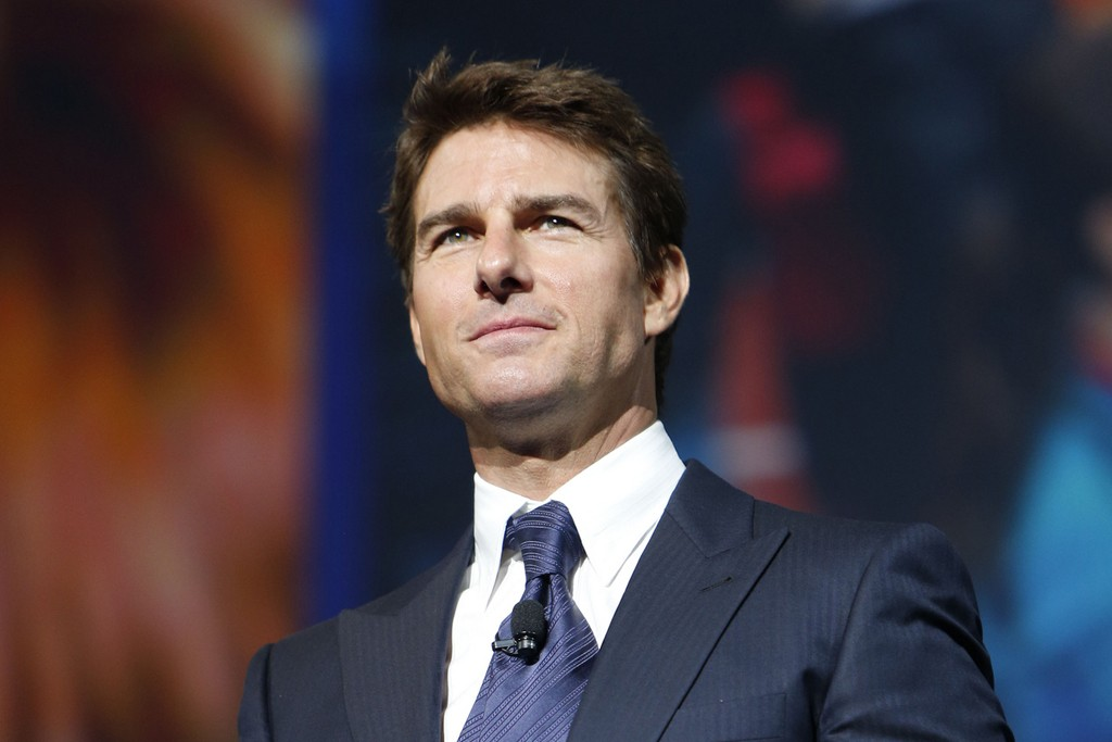 Tom Cruise was a surprise guest.