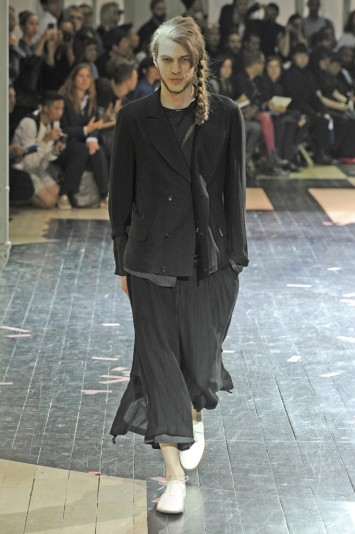Yohji Yamamoto Men's RTW Spring 2014