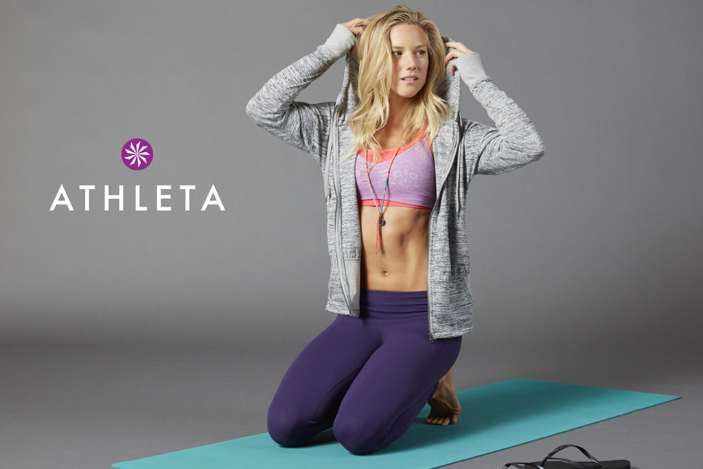 An image from an Athleta ad campaign.