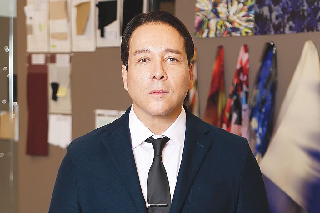 Victor Alfaro in his West 20th Street studio.