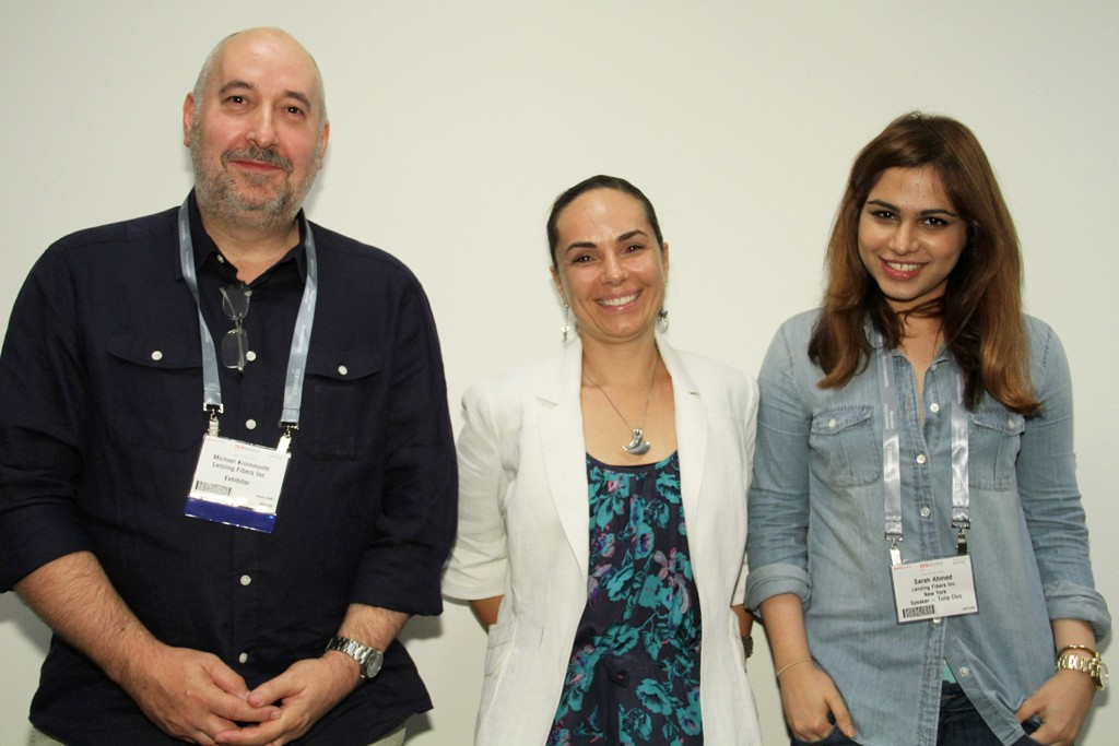 Michael Kininmonth, Manon Clavel and Sarah Ahmed