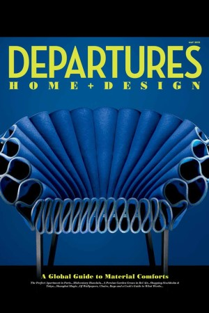 Cover of Departures' 2013 Home & Design supplement.