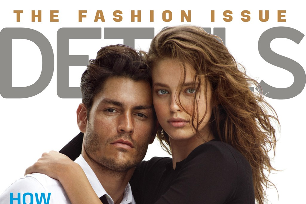The September 2013 Details magazine cover.