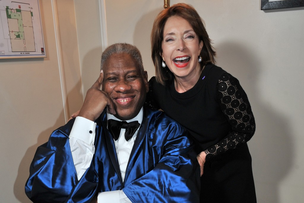 André Leon Talley and Paula Wallace