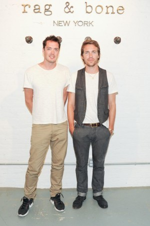 Rag & Bone's Marcus Wainwright and David Neville.