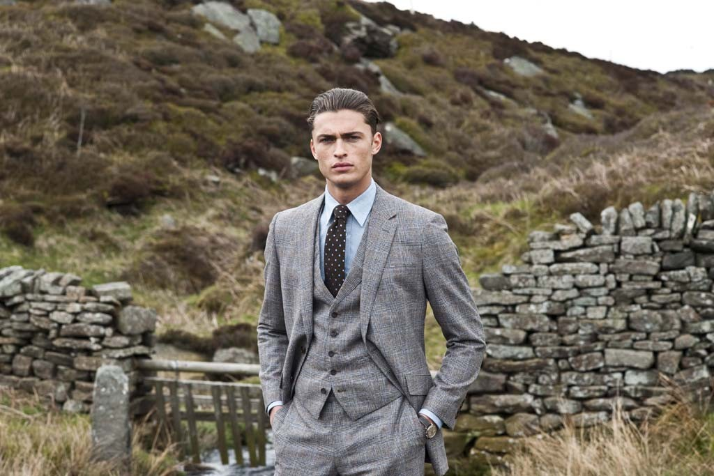A look from Gieves & Hawkes.