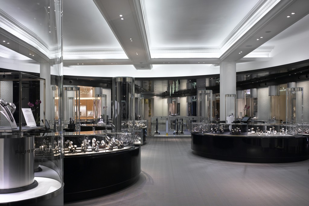 The new fine watches room.