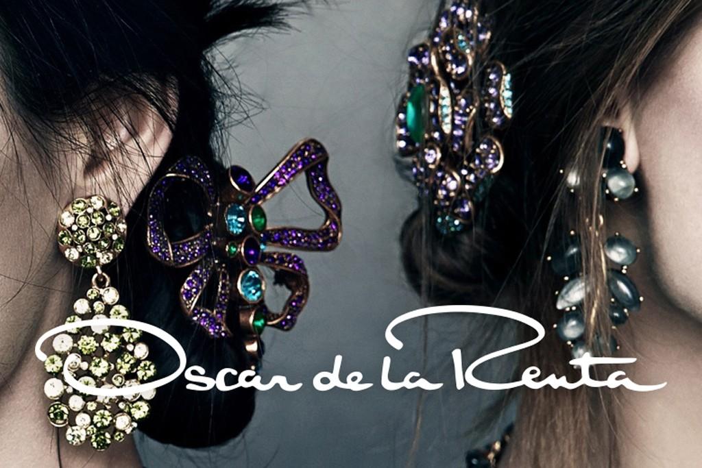 A teaser for Oscar de la Renta's fall ad campaign.