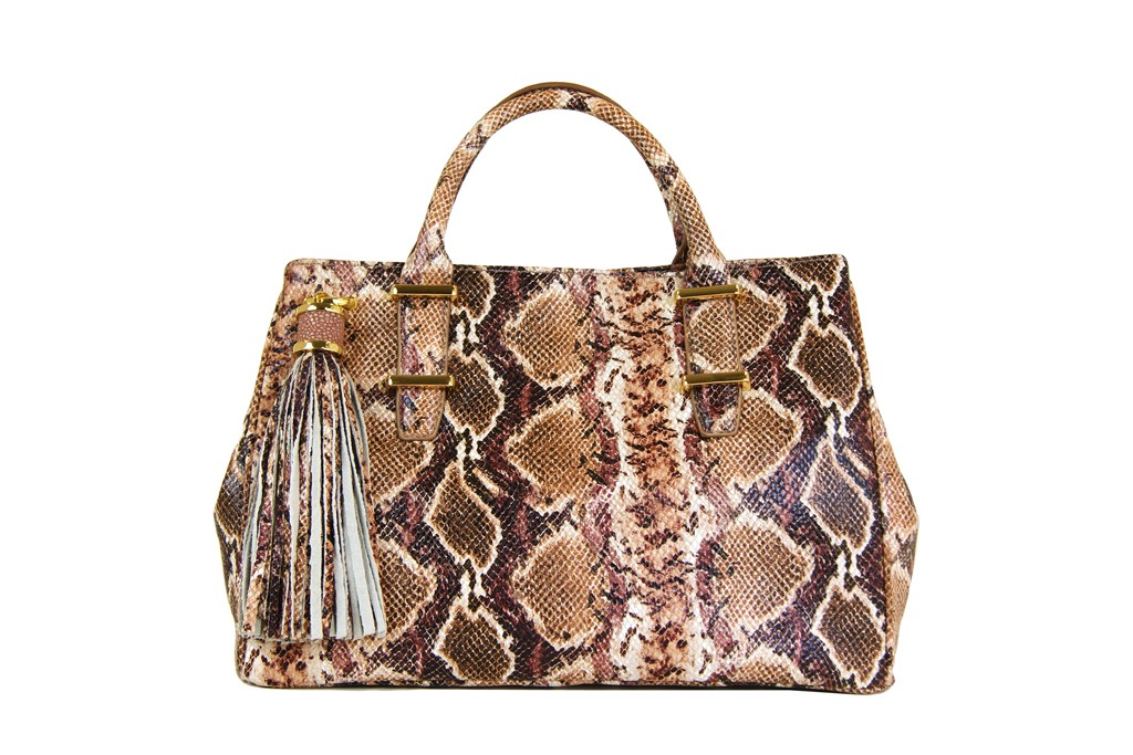 A look from the Ivanka Boutique leather bag collection.