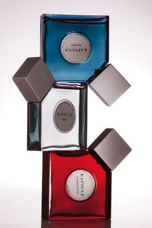 Kapsule unisex fragrances by Karl Lagerfeld.