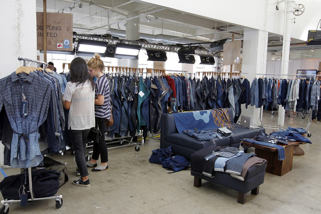 Premium denim designers checked out textile innovations and vendors who could help them produce domestically at the Kingpins show in Los Angeles.