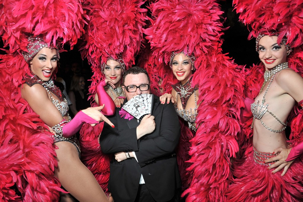 Alber Elbaz at the Lancôme party.