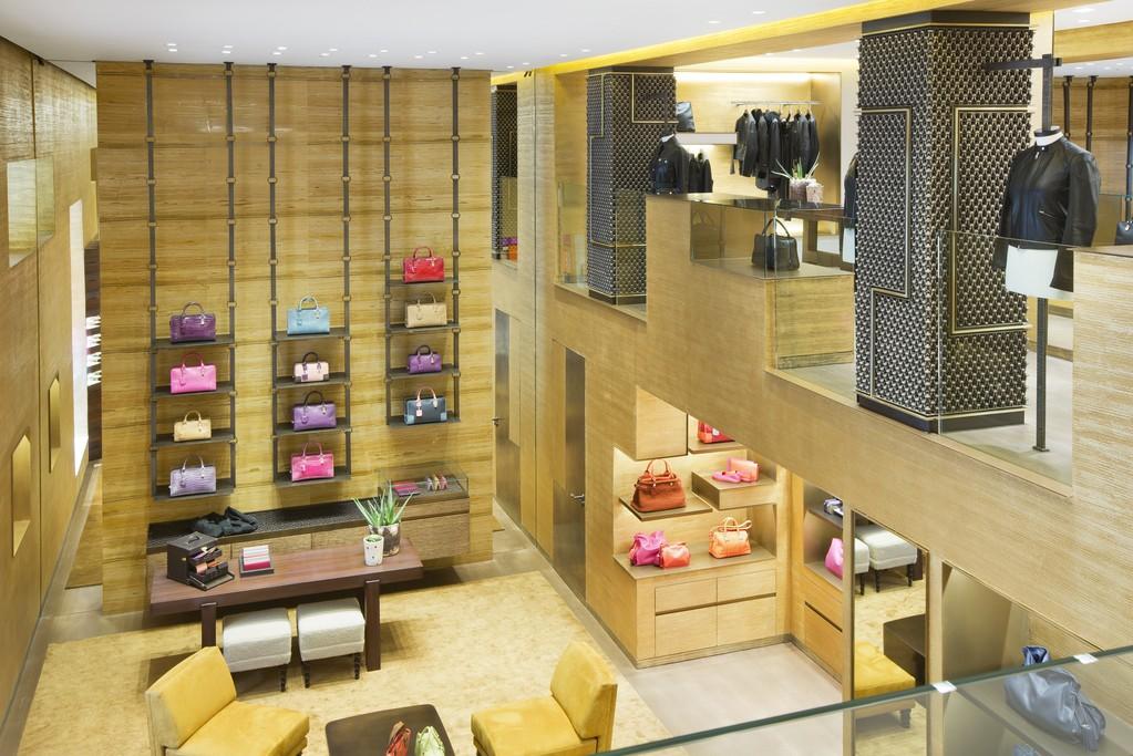 Loewe's revamped Avenue Montaigne boutique