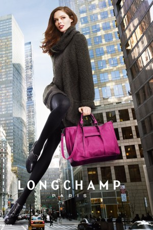 The Longchamp fall campaign