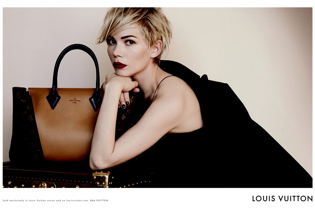 Michelle Williams for Louis Vuitton.