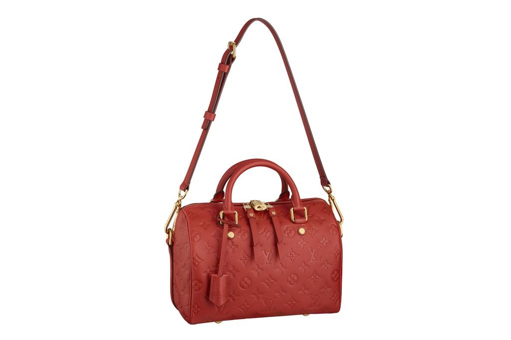 Louis Vuitton's Speedy Bandoulière handbag.